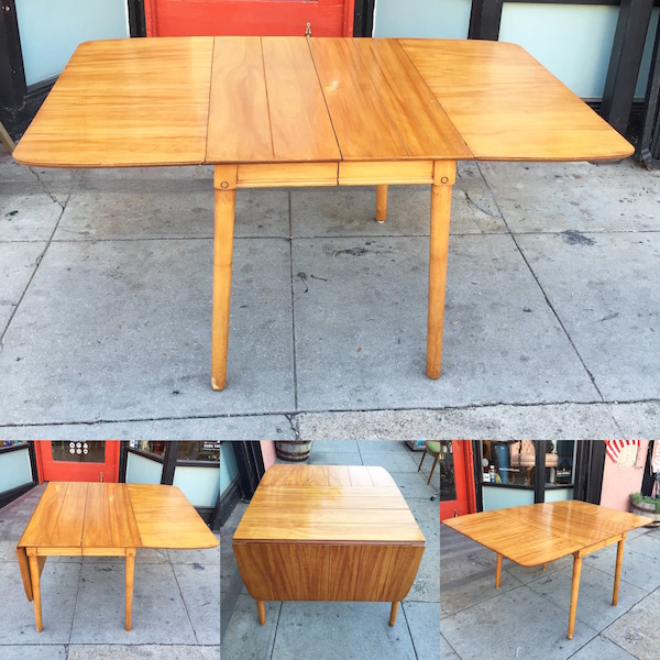 Mid-century Drop Leaf Table