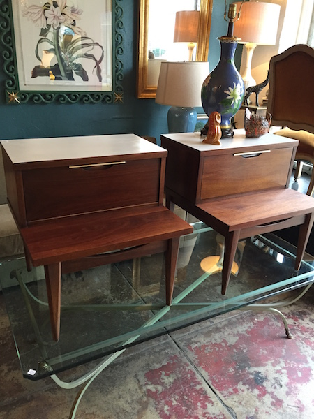 Pair of Mid-century Nigh Stands by Kent Coffey