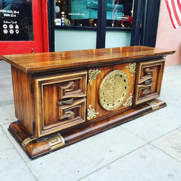 1975 Asian-style Credenza