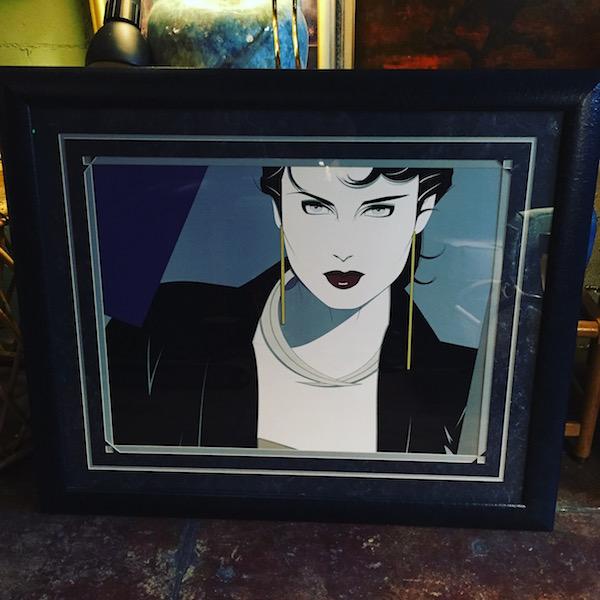 Framed Patrick Nagel Print