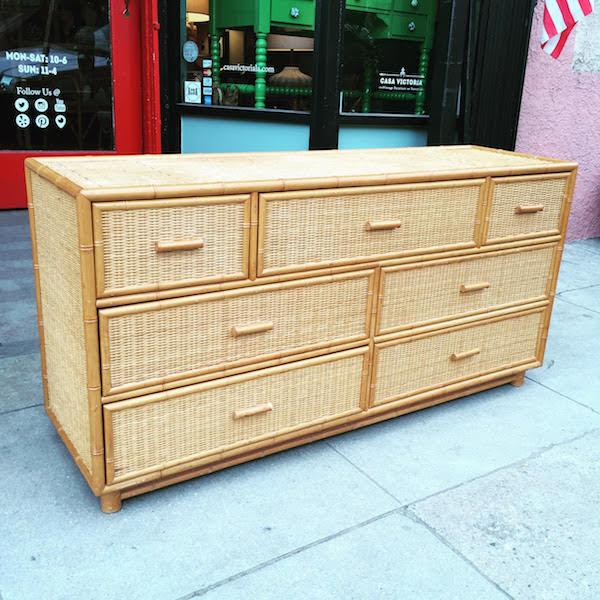 1970s Newport Beach Dresser