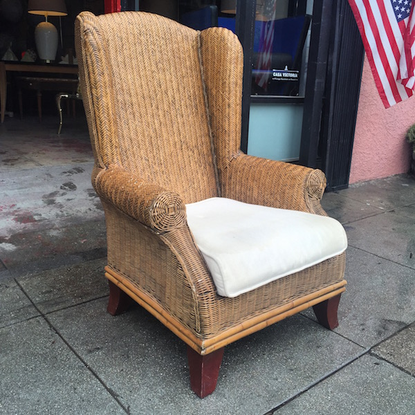 Classic Wing Chair from Bali
