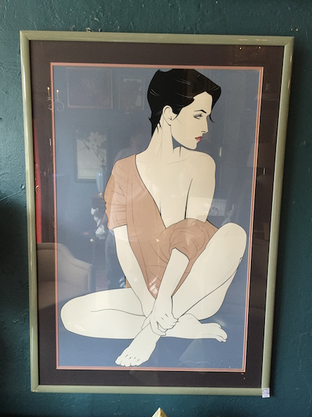 1980s Patrick Nagel Commemorative