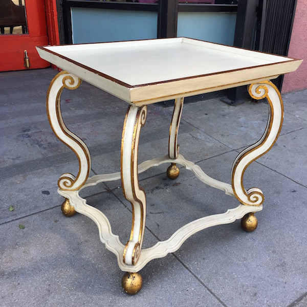 Vintage Tray Top Table
