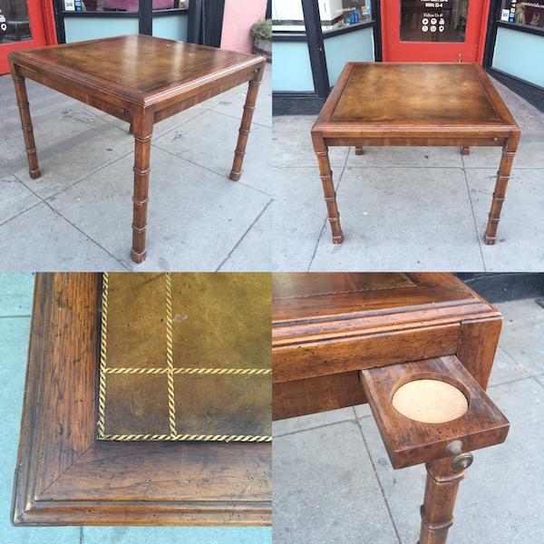 Vintage Game Table by Heritage