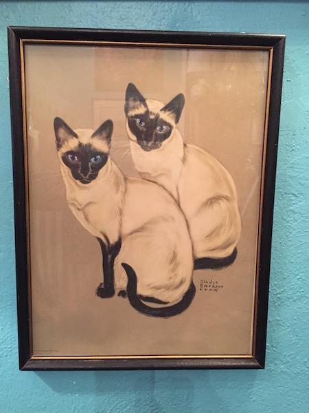 Mid-century Cat Print
