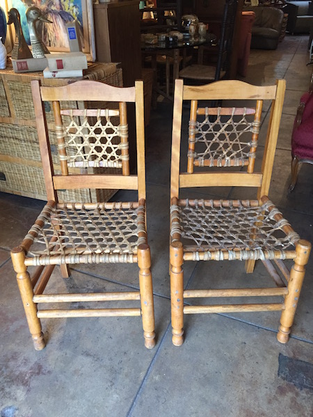 Pair of Rawhide Rancho Chairs