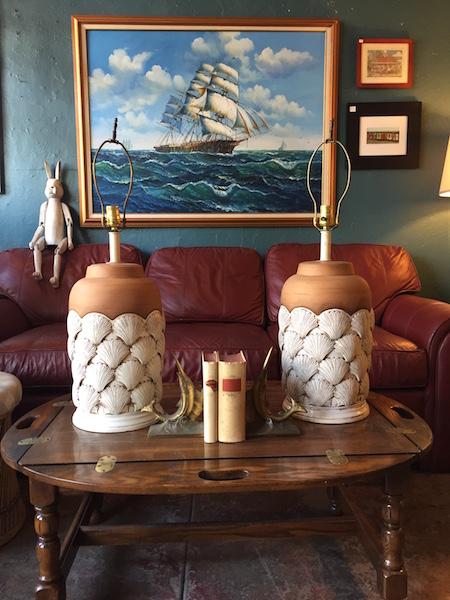 Pair of Terracotta Lamps