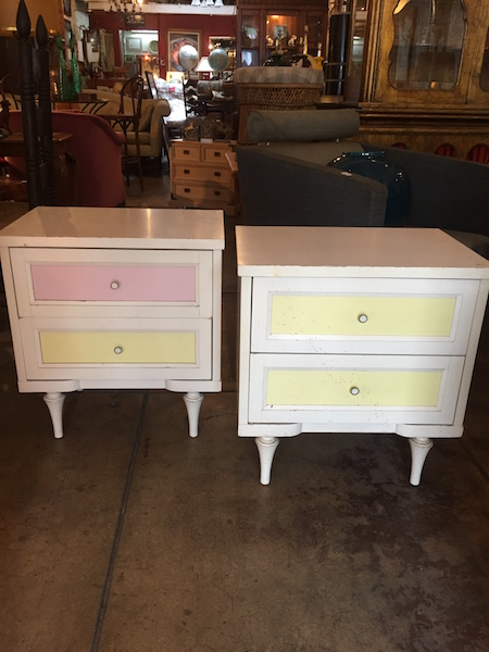 Pair of 1960s Nightstands