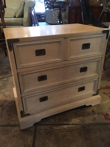 Classic Campaign Style Nightstand