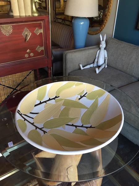 Large Vintage Ceramic Platter