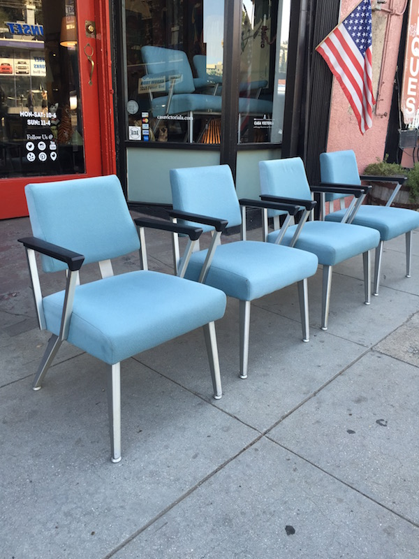 Set of 4 Mid-century Style Arm Chairs by GoodForm Co.