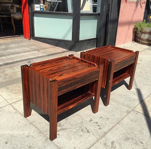 Rosewood Night Stands