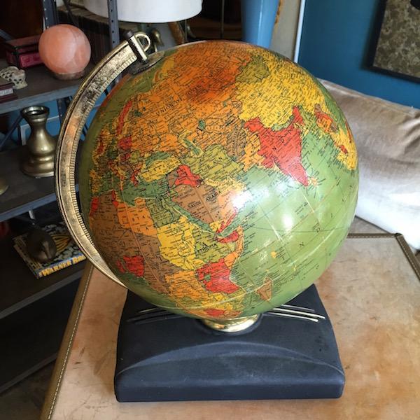 1952 Lighted Globe