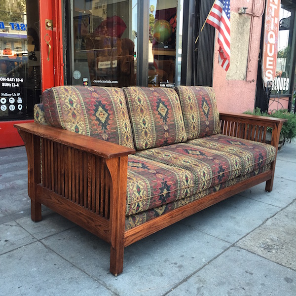 Classic Mission-style Sofa