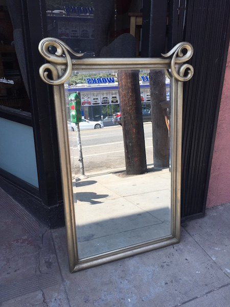 Mid-century Beveled Mirror by Albright & Zimmerman