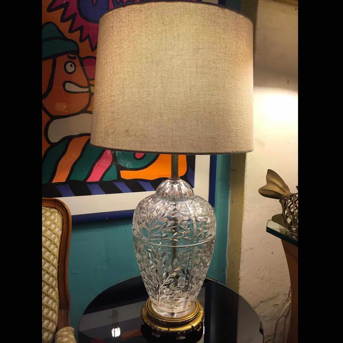 Cyrstal Lamp