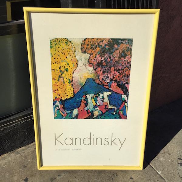 Print of Kandinsky's Blue Mountain, No 84