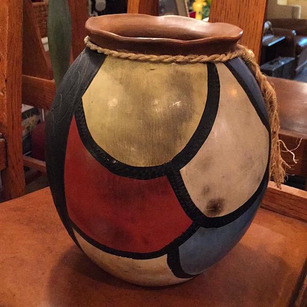 Vintage Pottery Vessel