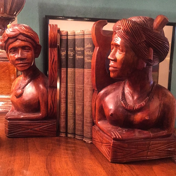 Oversized Temple Bookends