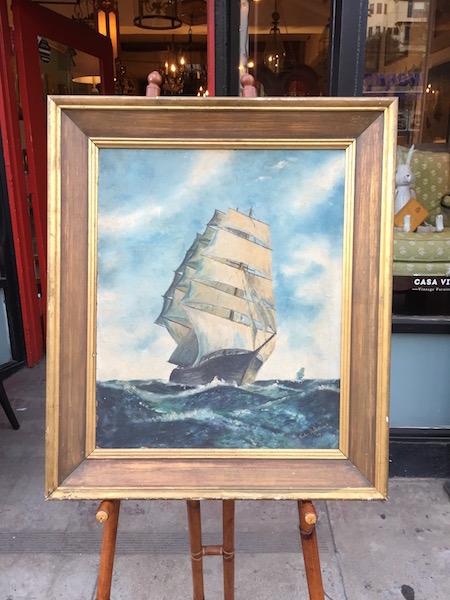 Original Tall Ship Painting