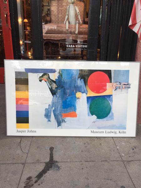 Super-sized Jasper Johns Print