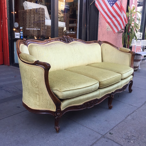Classic French Provincial Sofa
