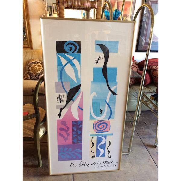 Vintage Oversized Matisse Print