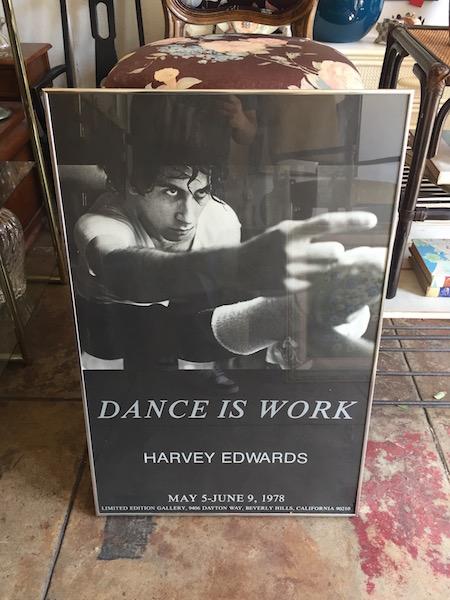 Dance is Work Print