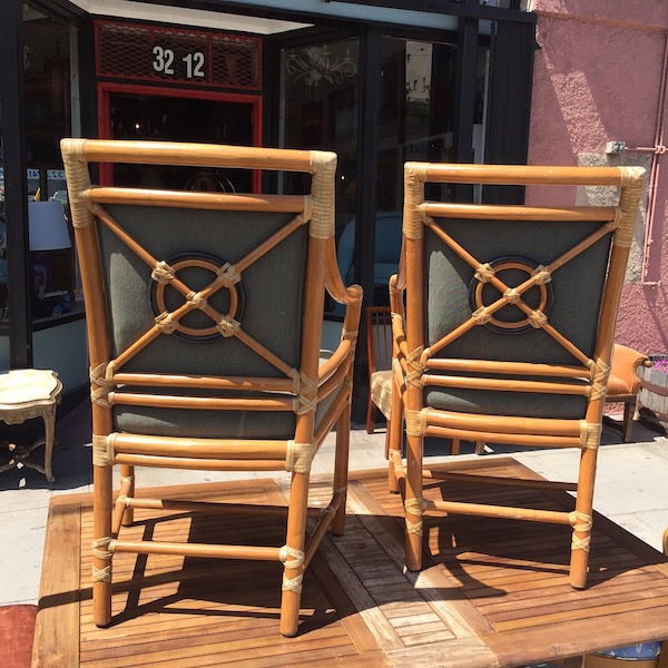 Target Back Rattan Dining Chairs