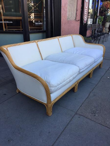 Classic Rattan Sofa