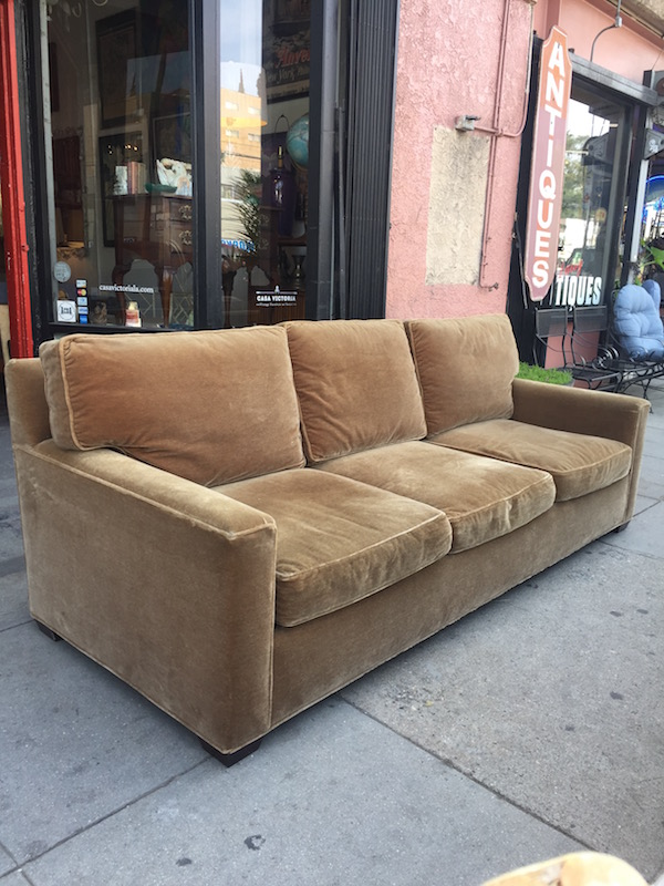 Custom Made Club Sofa