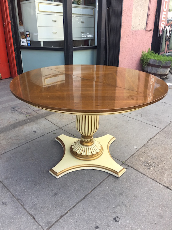Custom Made Pedestal Dining Table