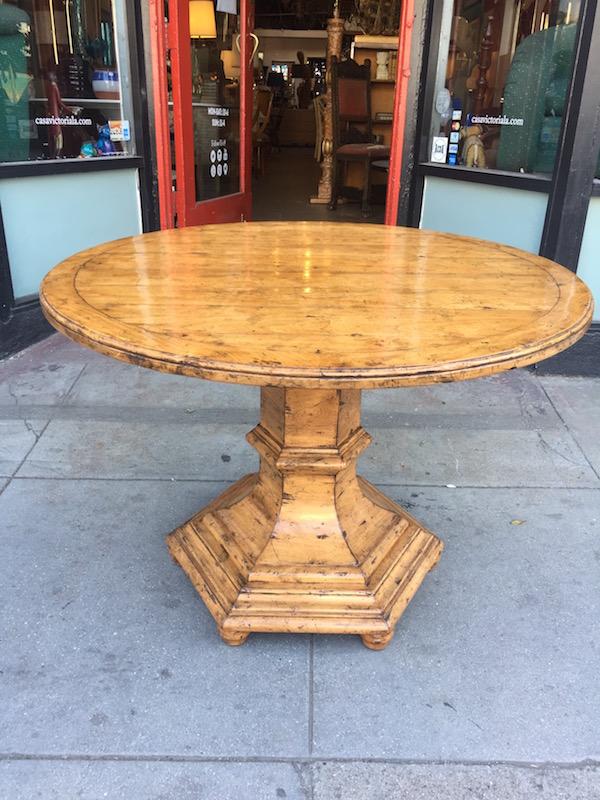 Pedestal Farm House Table