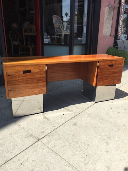 1980s Office Credenza