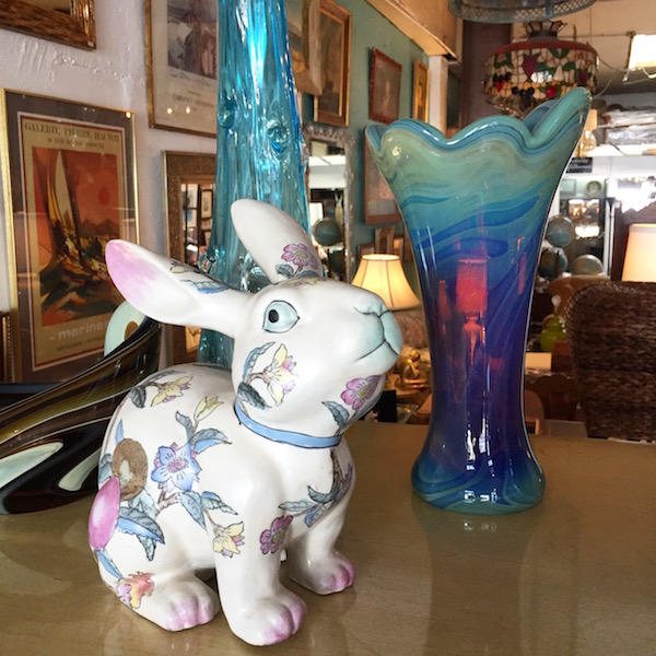 Hand Decorated Chinese Lucky Rabbit