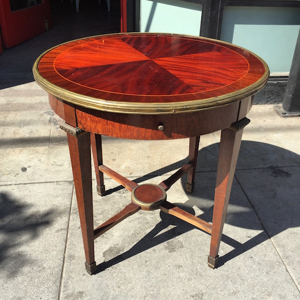 Early 1900s Mahogany Occasional Table