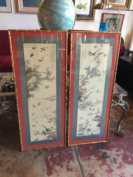 Vintage Chinese Screen Prints