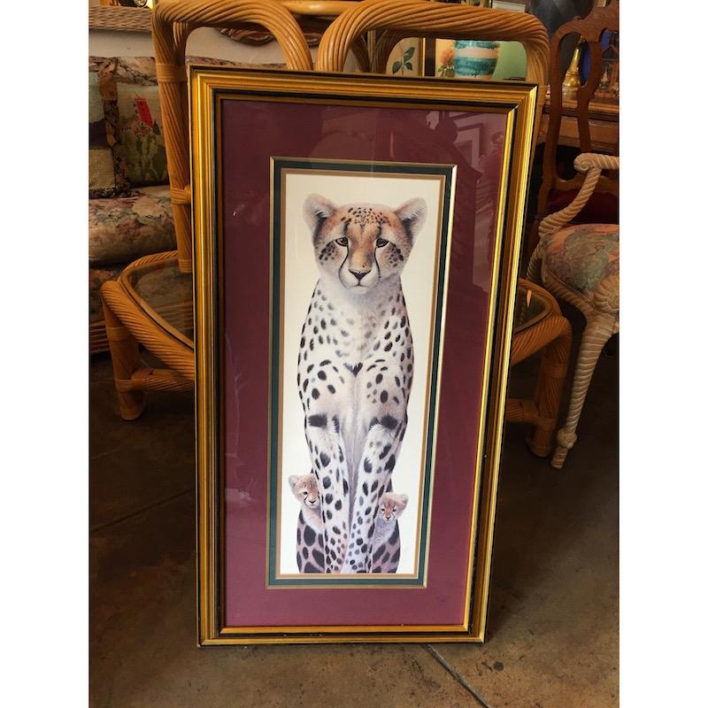 Cheetah Family Artwork