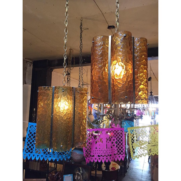 Pair of 1950s Pendant Lamps