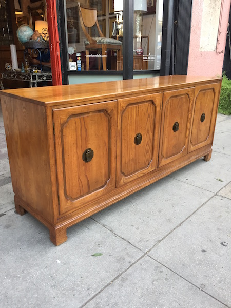 Asian-style Credenza by Davis Cabinet Co.