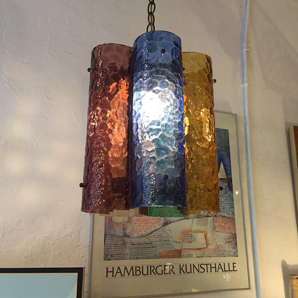 Multicoloured Mid-century Chandelier
