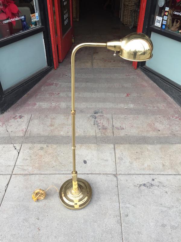 Classic Brass Floor Lamp
