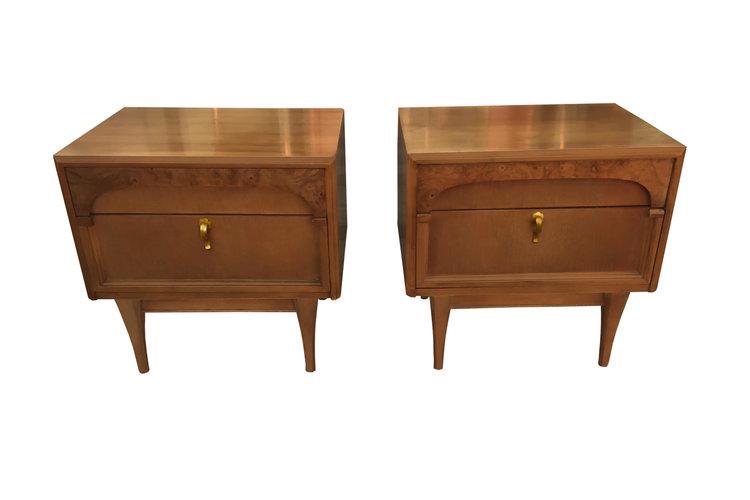 Pair of Mid-century Nightstands