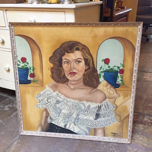 1940s Portrait of Woman by Roy Boyle