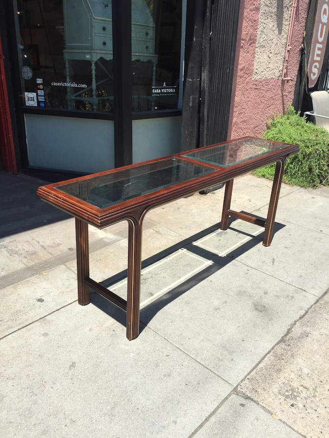 1980s Modern Console Table