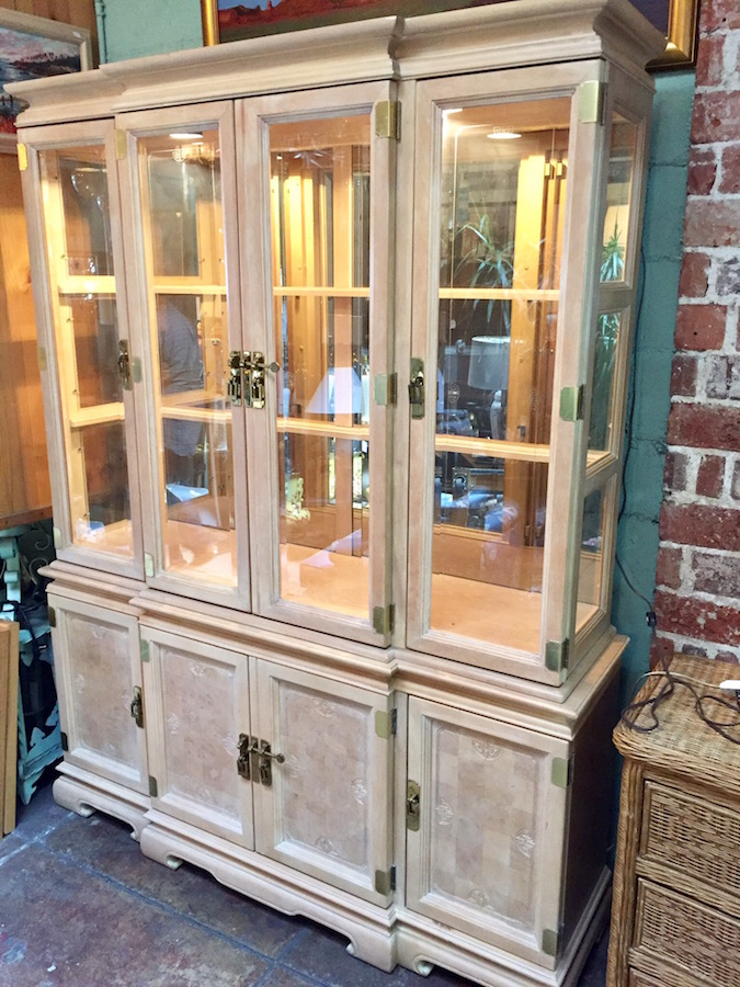 Custom Made Ming-style China Cabinet