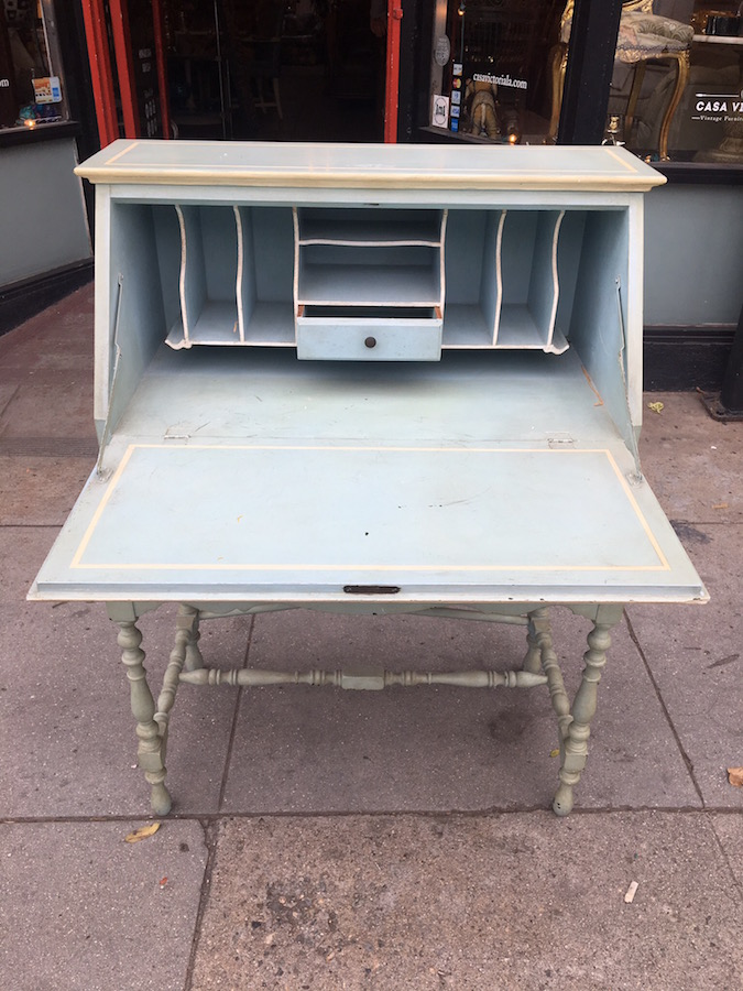1920s Small Secretary Desk