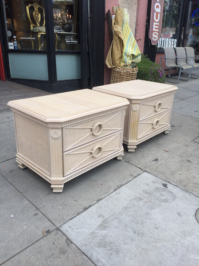 Pair of Classic La Jolla Night Stands