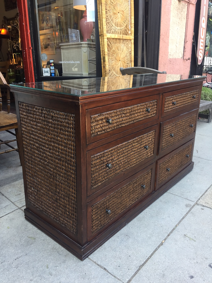 Unique Six Drawer Dresser